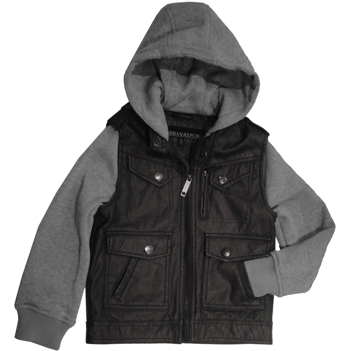 Baby Fleece Jacket With Hood Moto Fleece Hood Jacket
