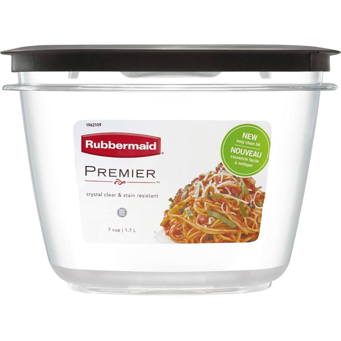 Rubbermaid Premier 7 Cup Food Storage Container Food Storage