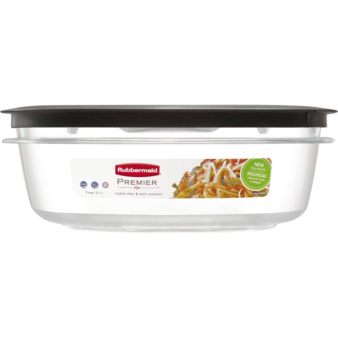 Rubbermaid Premier 9 Cup Food Storage Container Food Storage