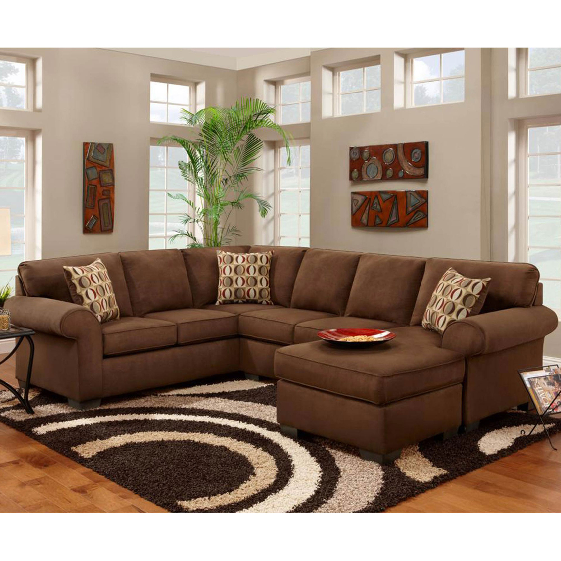 Chelsea Home Adams 3 Pc Sectional Sofas Couches Home