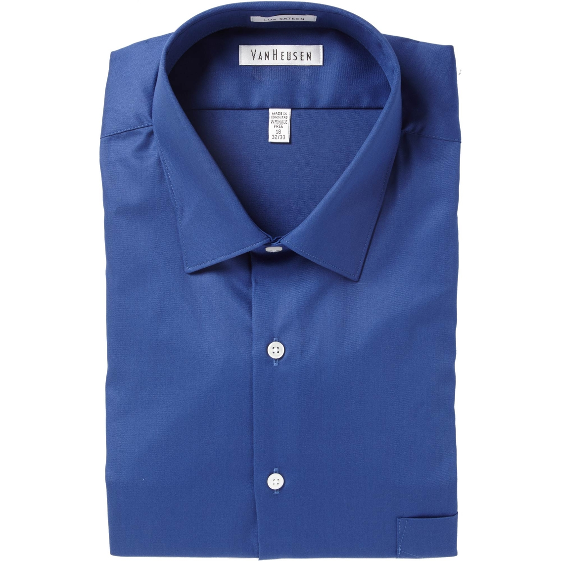 van heusen tall lux sateen dress shirt dress shirts
