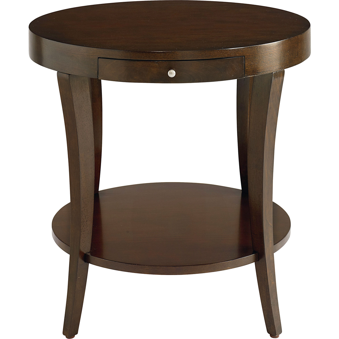 Bassett Presidio Round Lamp Table | Living Room Tables | Home ...