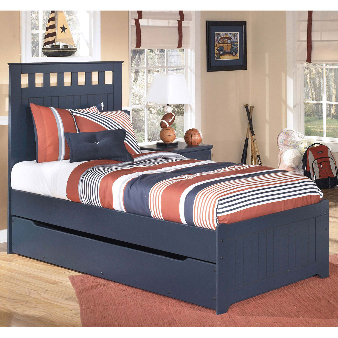 Ashley Leo Twin Trundle Bed Beds Home Appliances Shop The Exchange