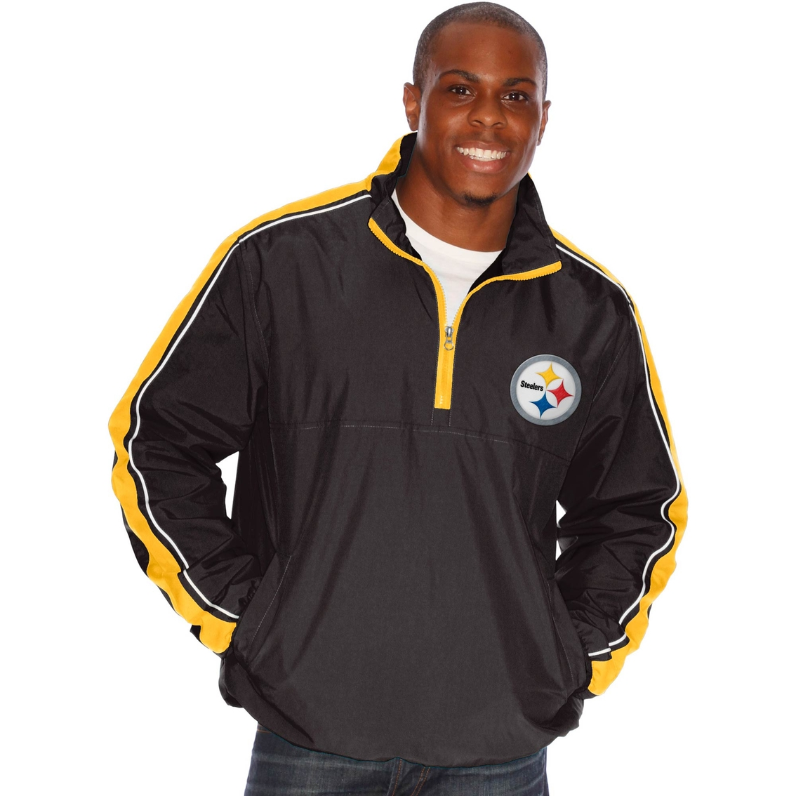size 40 ccb25 20bcb G-iii Sports Nfl Pittsburgh Steelers Team Touchback Pullover ...