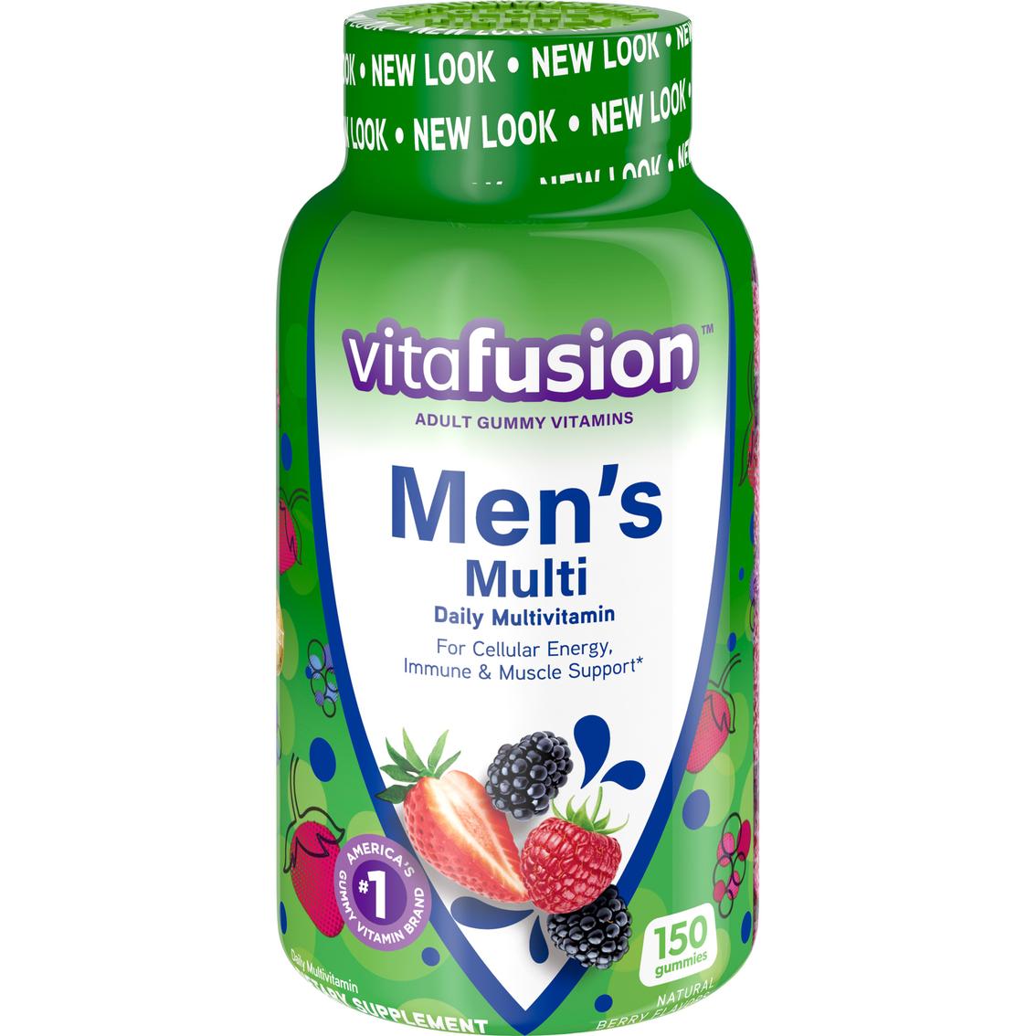 Vitafusion Men's Gummy Multivitamins 150 Pk  | Vitamins | Beauty