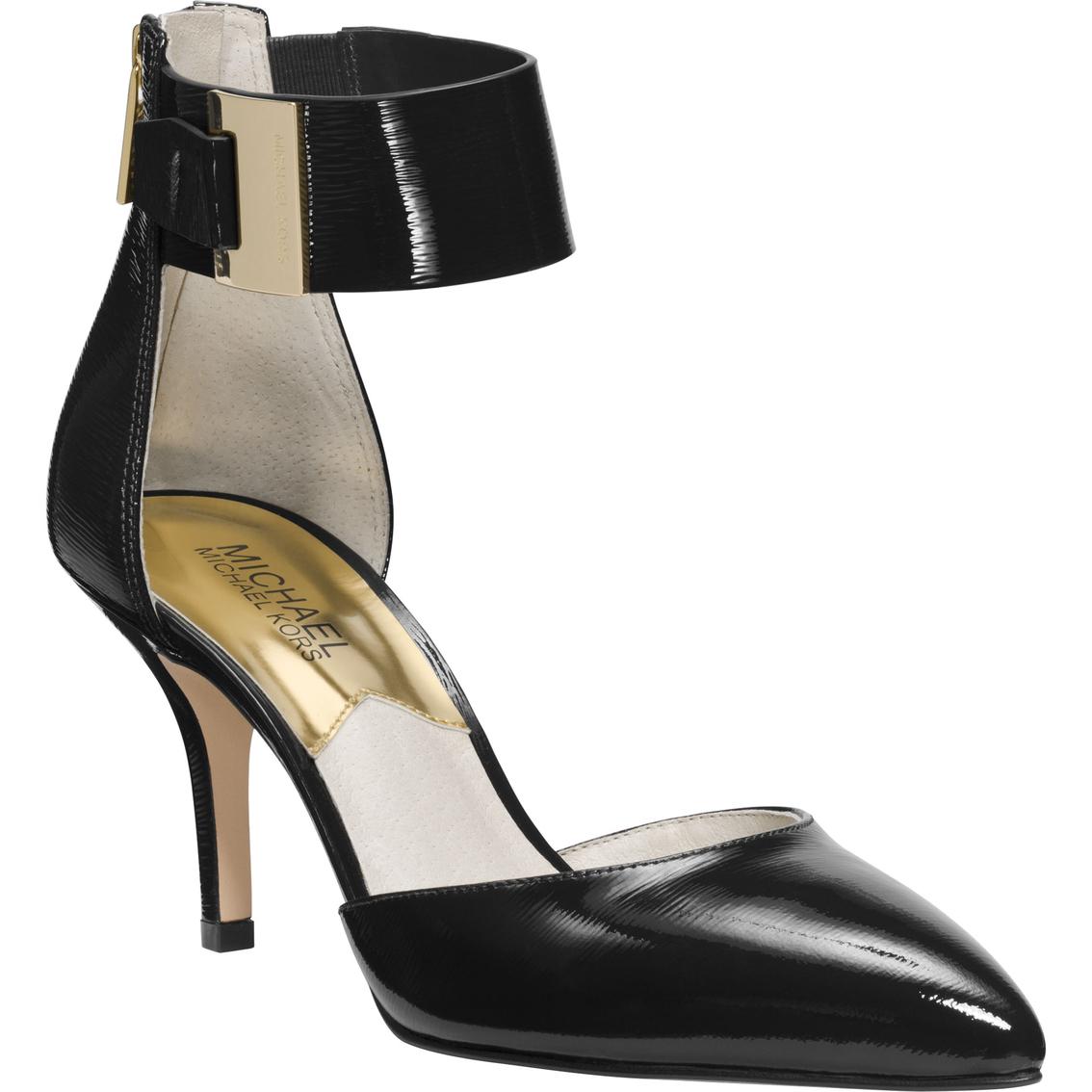 b229cb21ef35 Michael Kors Guiliana Ankle Strap Heels