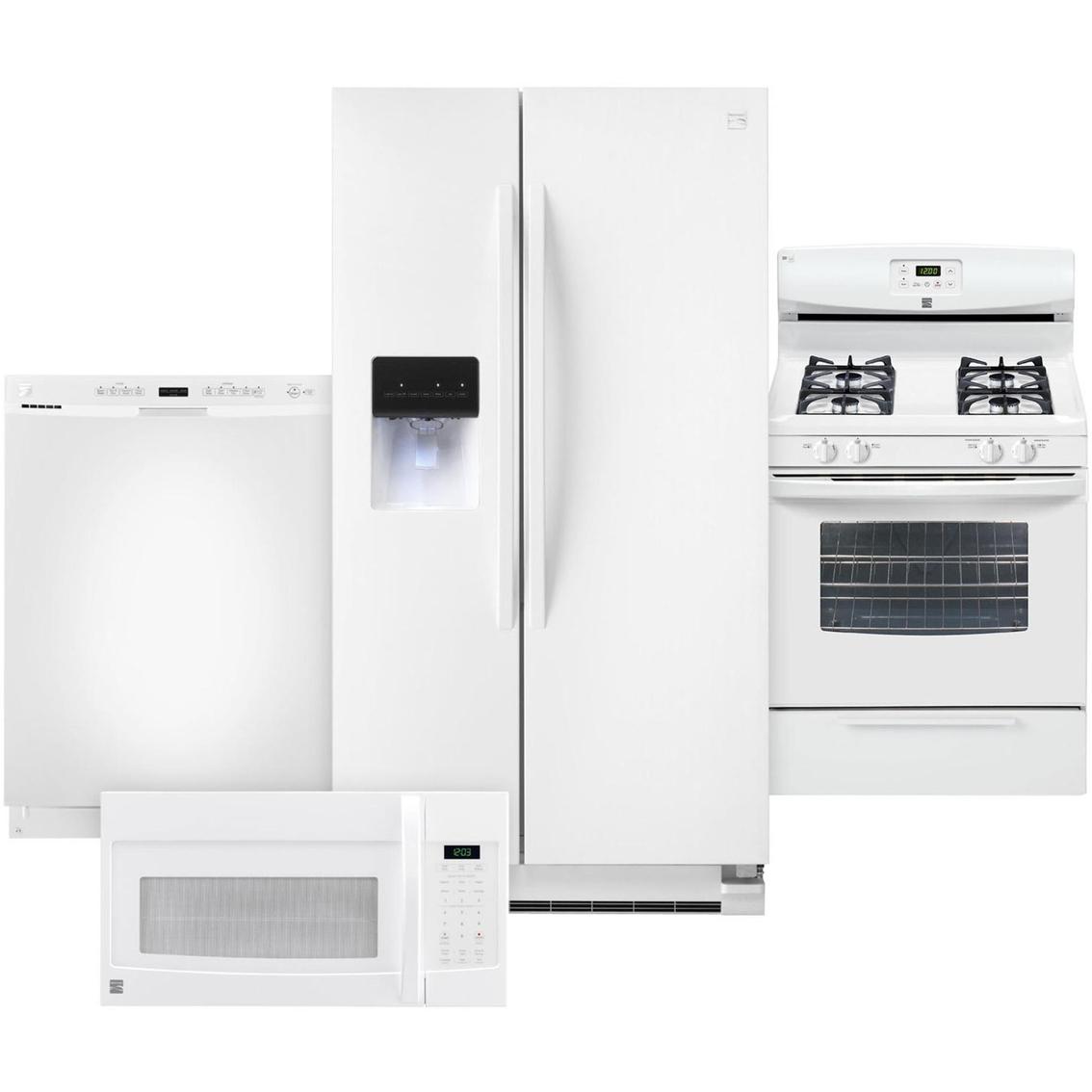 Kenmore 4 Pc Kitchen Combo Kitchen Appliance Sets Home Appliances Shop The Exchange