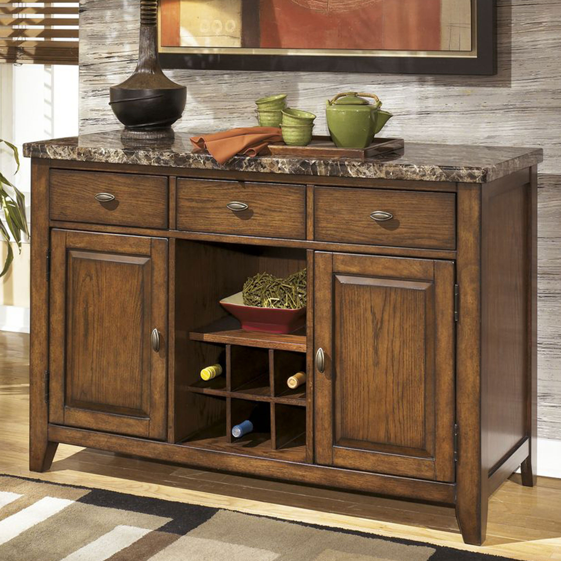 Ashley Lacey Dining Server | Dining Storage | Home & Appliances ...