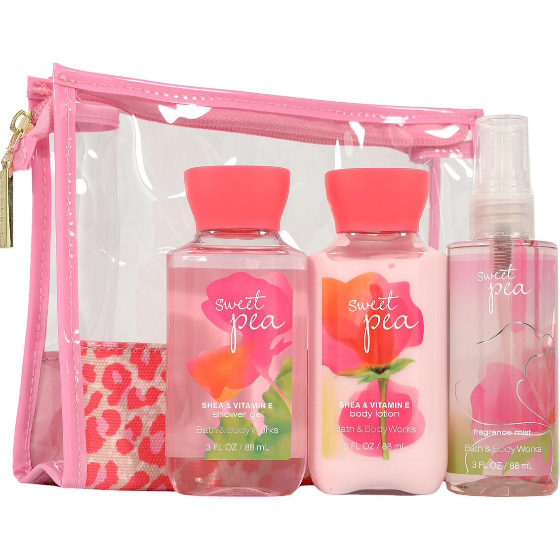 Bath and body works signature mini ritual cosmetic bag