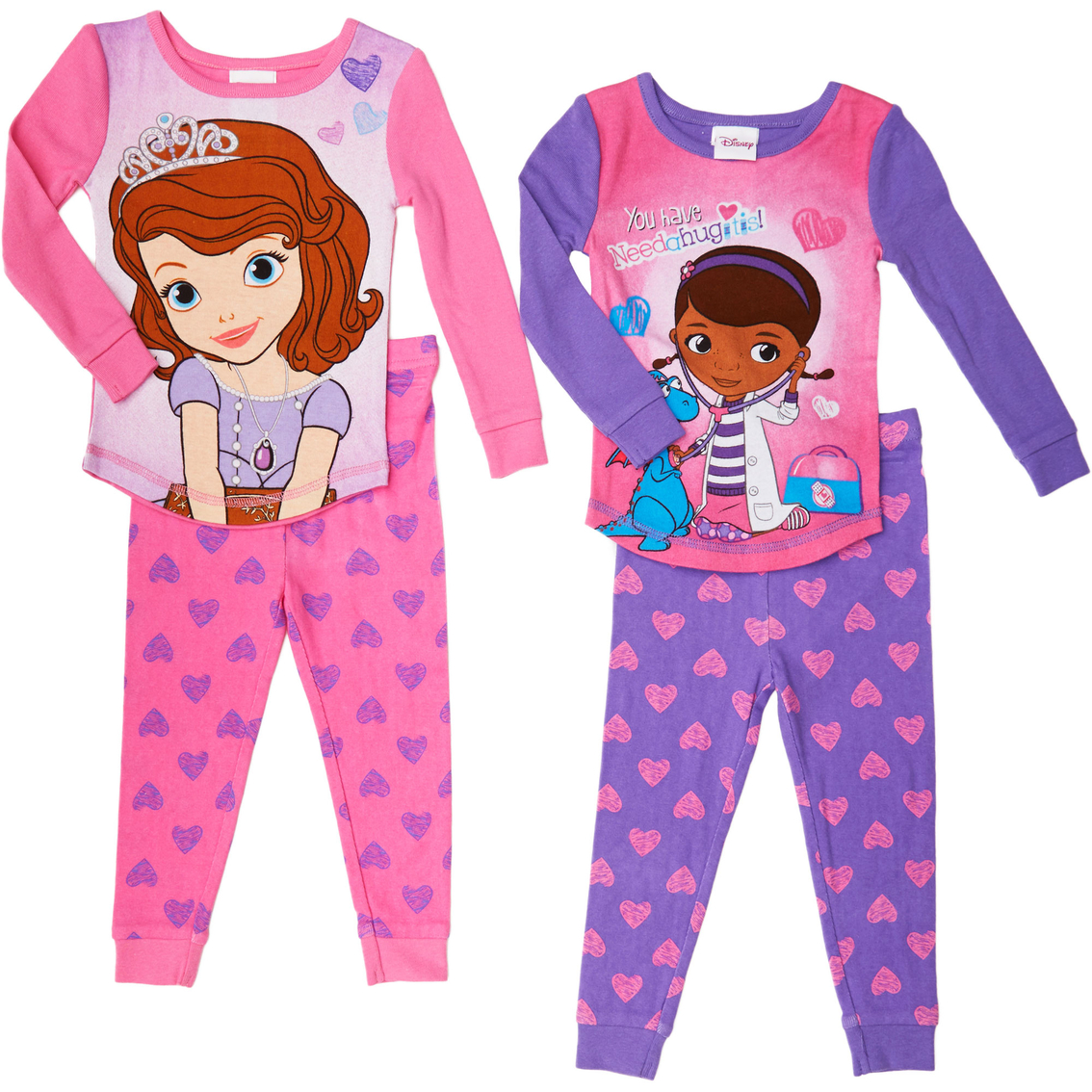 Disney The Doc Is In 4 Piece Doc Mcstuffins Toddler: Disney Toddler Girls Doc Mcstuffins And Sofia The First
