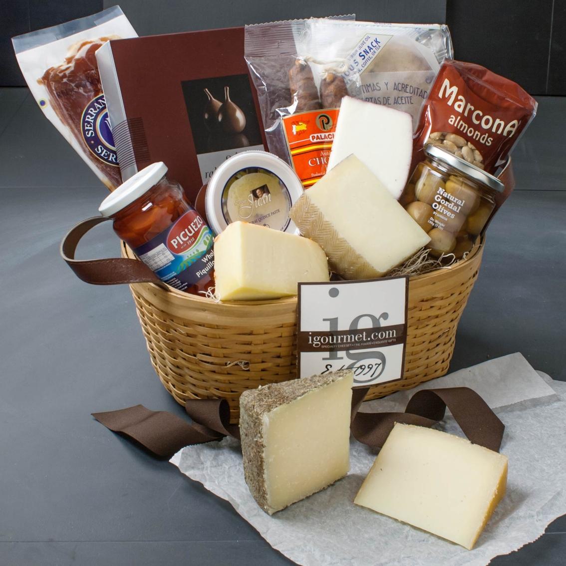 The Gourmet Market Spanish Fiesta Premier Gift Basket