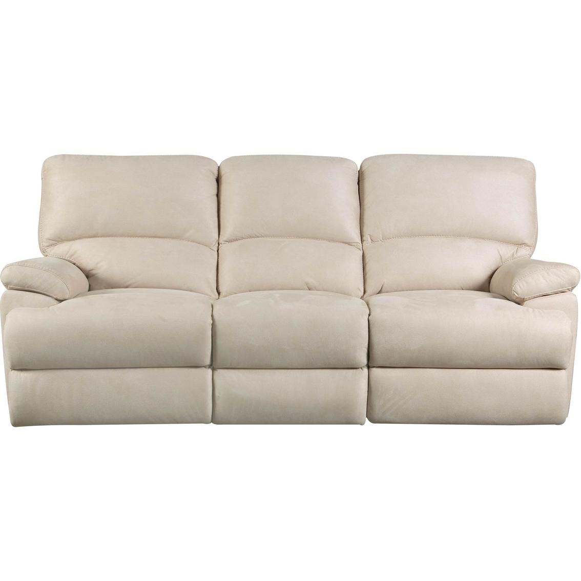 Bassett Tofino Leather Motion Sofa