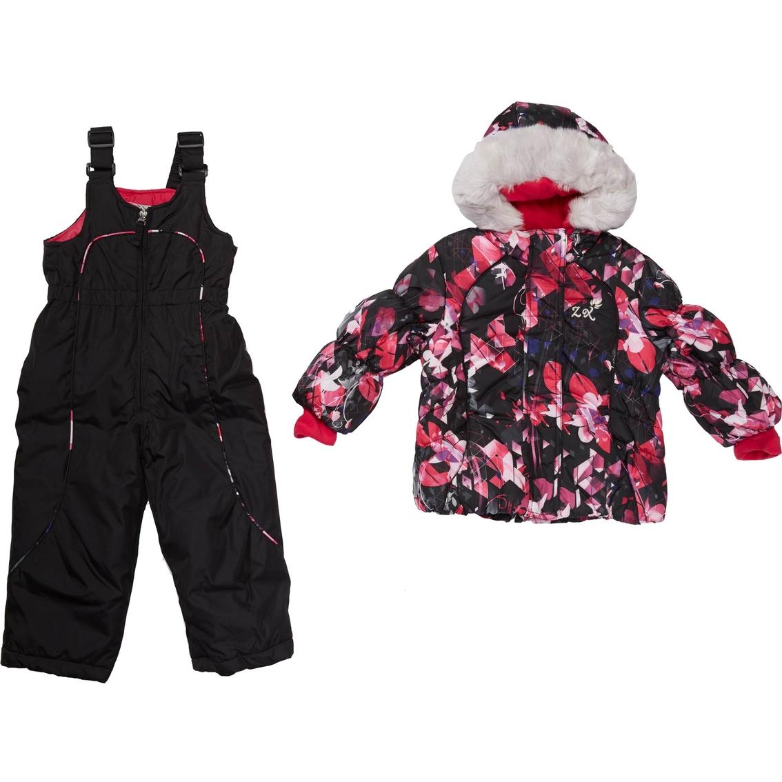 Zero Xposur Toddler Girls Jeanne Snowsuit Outerwear