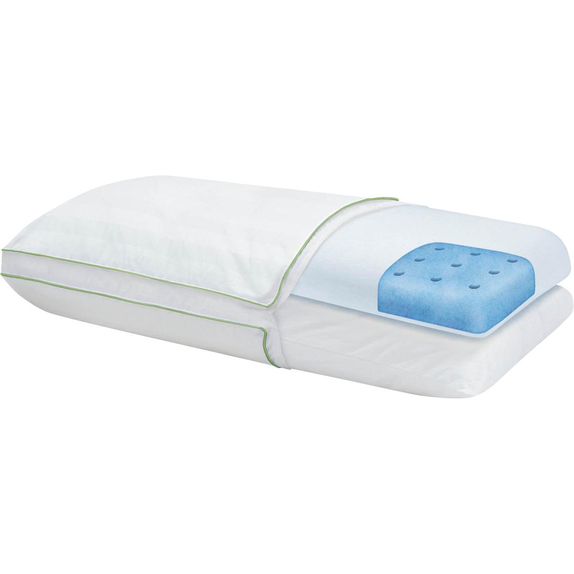 Sensorpedic Dual Comfort Supreme Gusseted Bed Pillow Bed