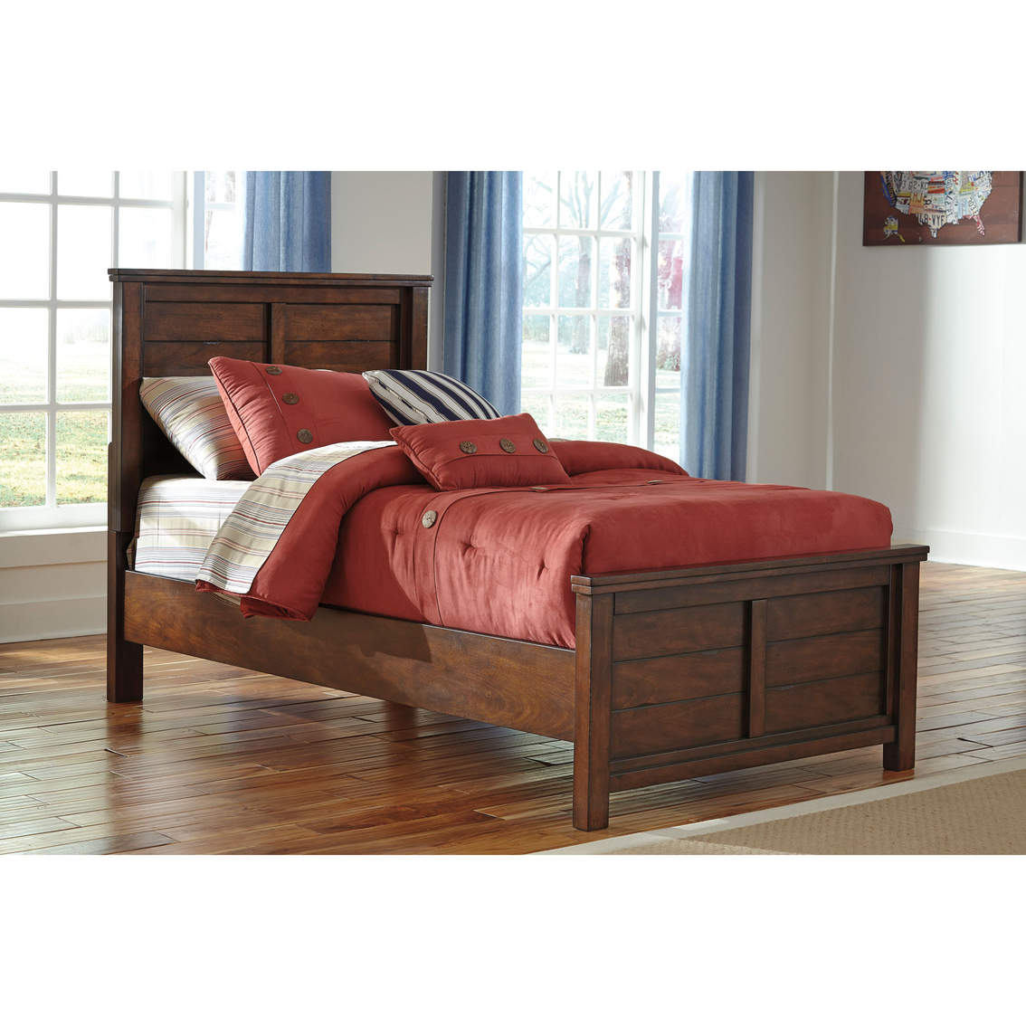 Ashley Ladiville Twin Panel Bed Beds Home Appliances Shop The Exchange