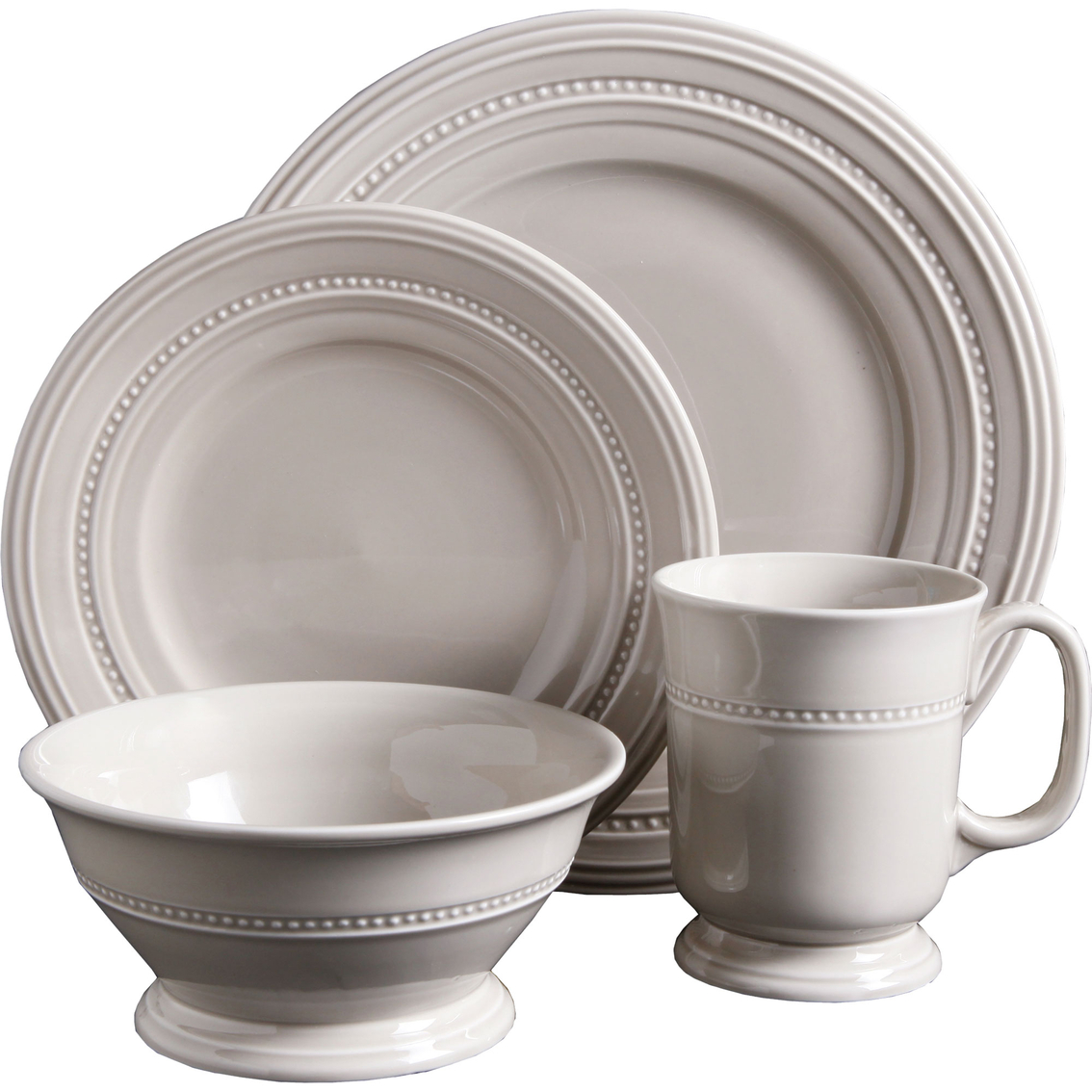 2101  sc 1 st  ShopMyExchange.com & Gibson Elite Barberware Cream 16 Pc. Dinnerware Set | Dinnerware ...