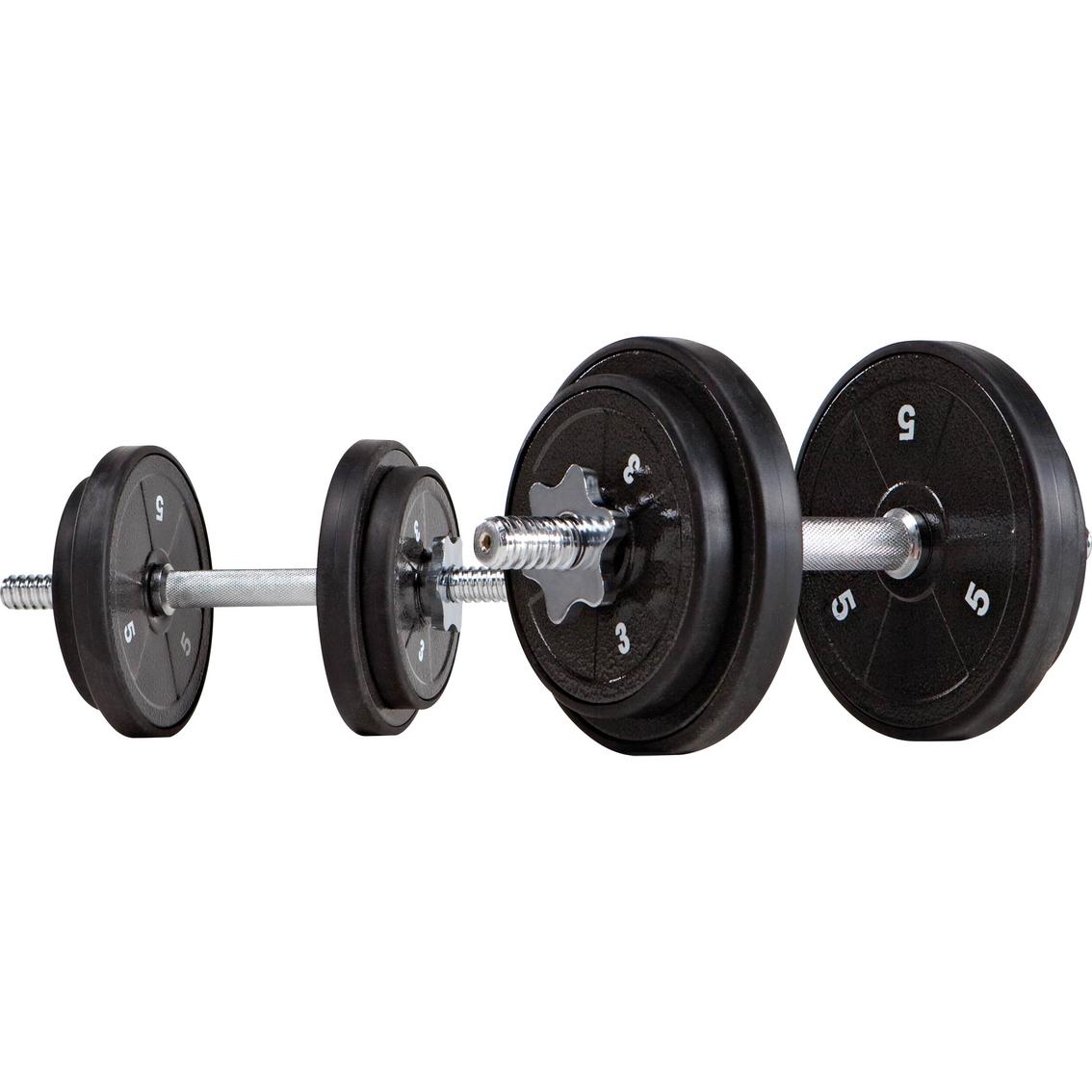 100 Lb Adjustable Dumbbell Set: Marcy 40 Lb. Adjustable Dumbbell Set, Ads 42