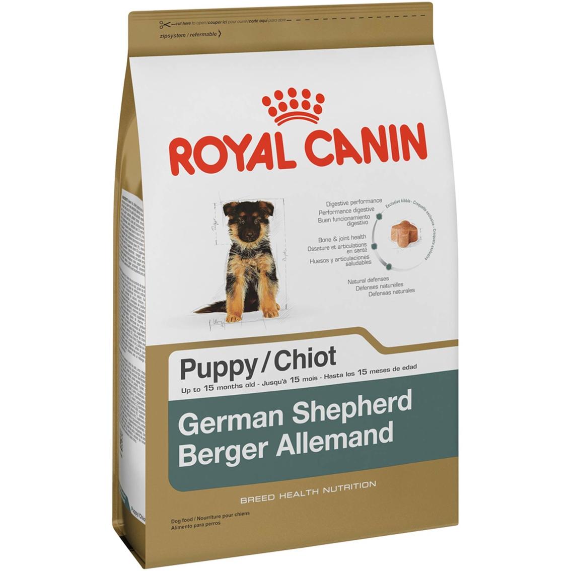 Royal Canin German Shepherd Puppy Food 30 Lb Food Treats Household Shop The Exchange