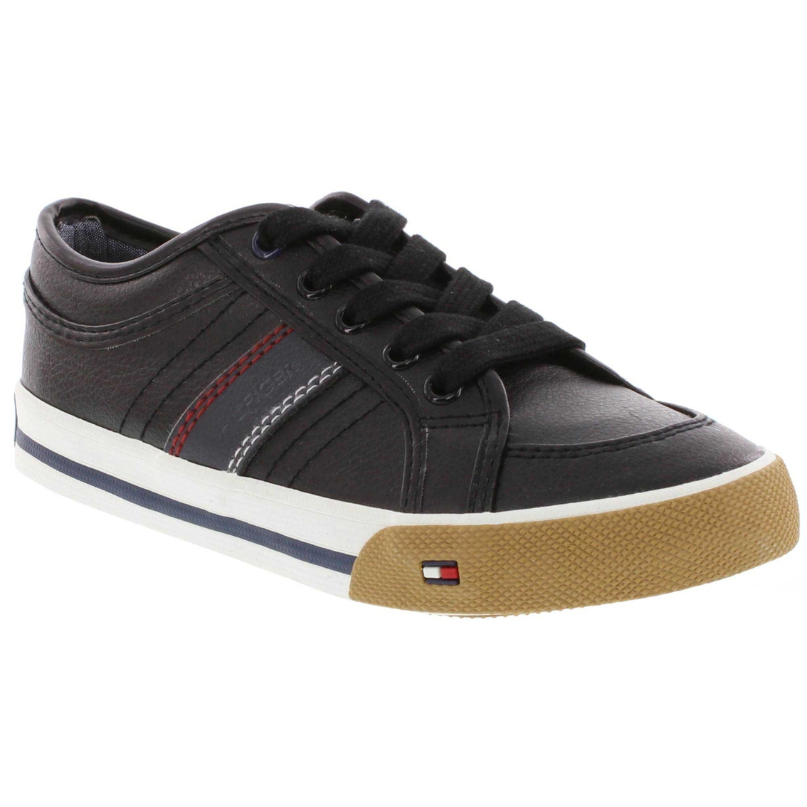 Tommy Hilfiger Claud Mens Suede Canvas Fashion Athletic ... - photo#13