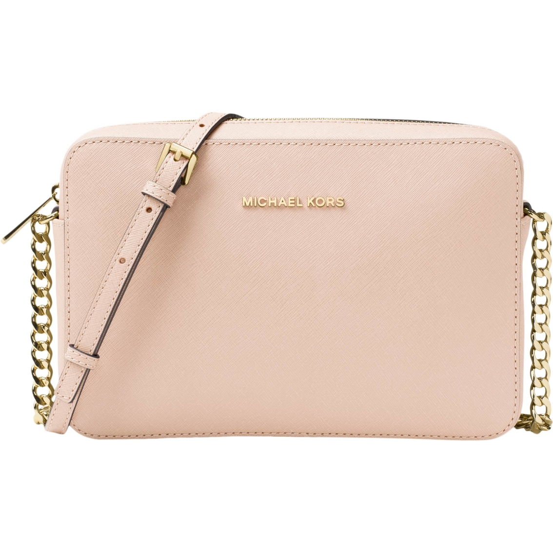 8d101eb3099c Michael Kors Jet Set Travel Large East West Crossbody Pink ...