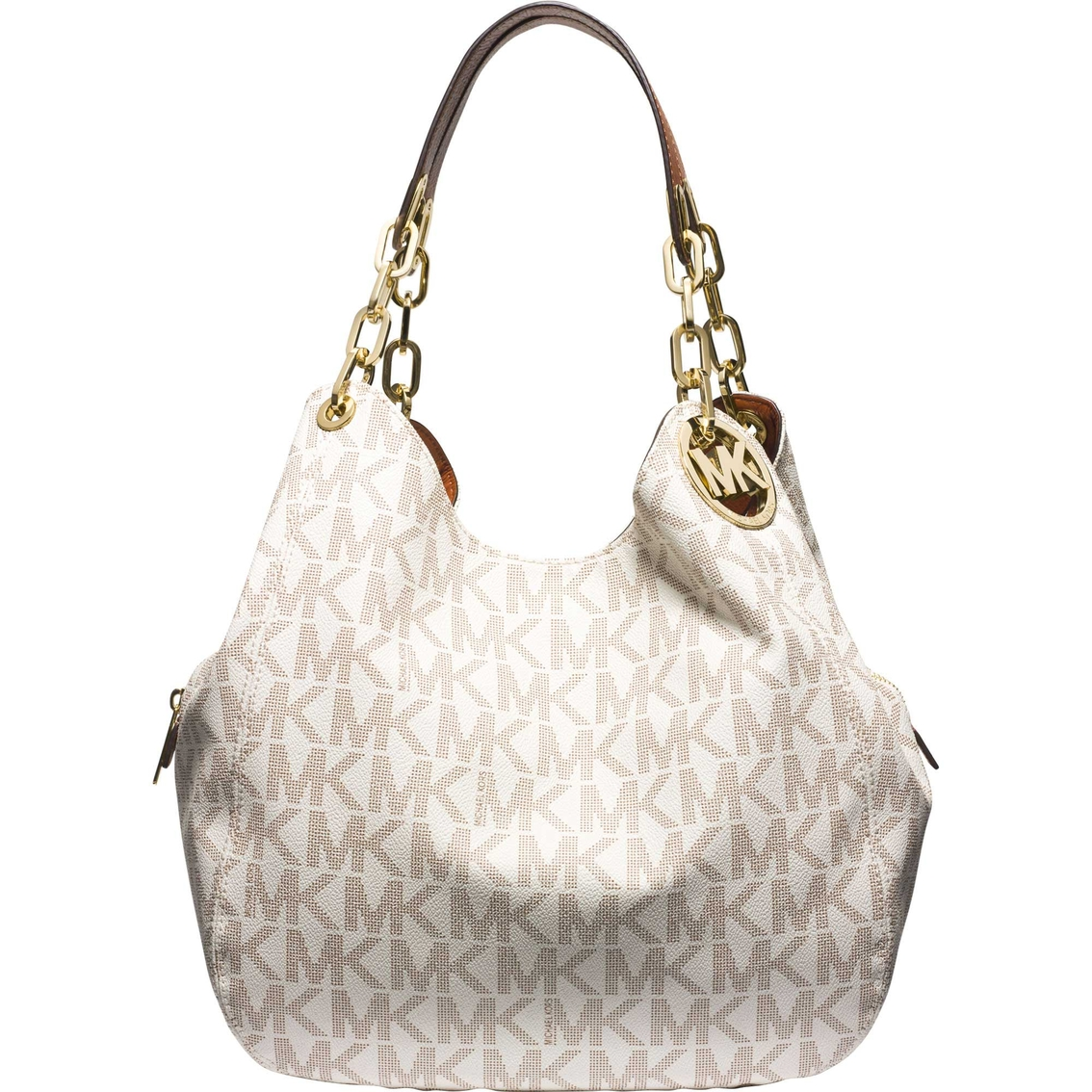df796fcac344 Michael Kors Fulton Signature Large Shoulder Tote