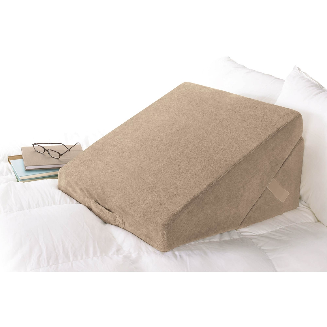 photo wedge shape miracle behind why pillow a the bed