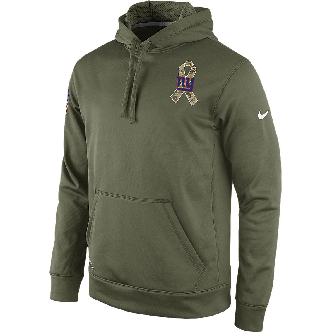 Nike Nfl New York Giants Salute To Service Ko Hoodie