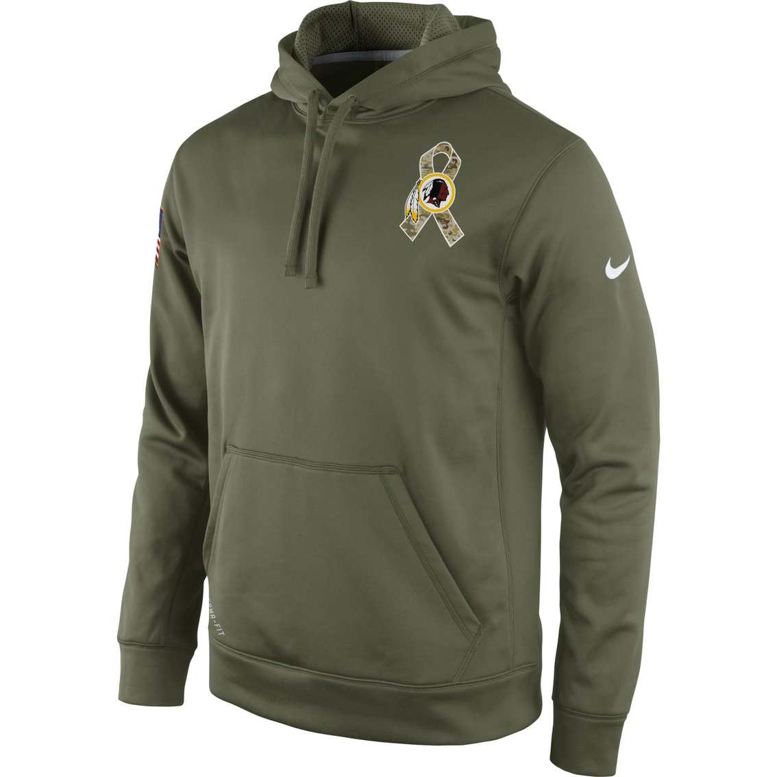promo code 1ed6c eb8c5 Nike Nfl Washington Redskins Men's Salute To Service Hoodie ...