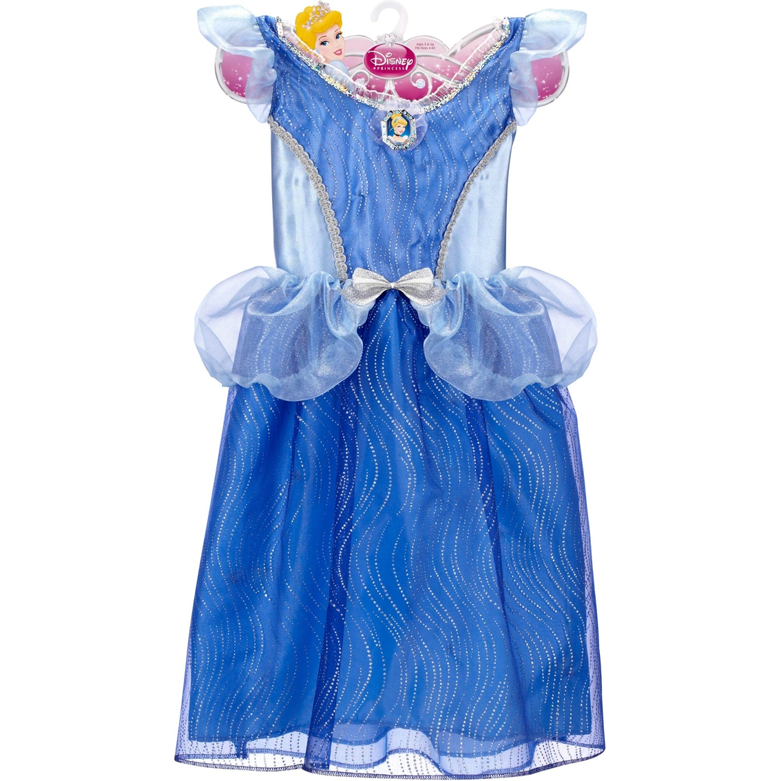 Disney Store Cinderella Light Up Costume Fancy Dress: Disney Princess Cinderella Girl's Deluxe Light Up Dress