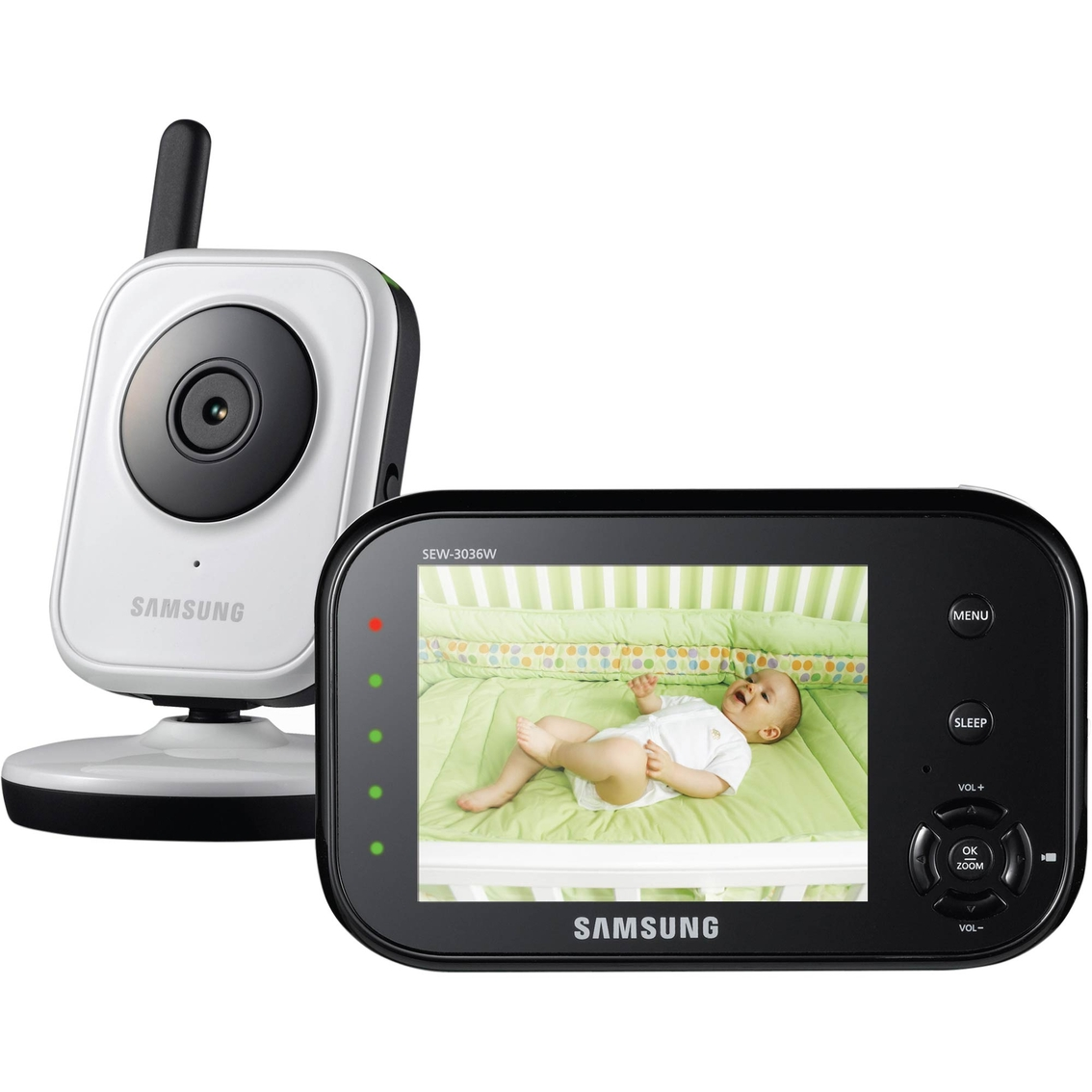 samsung babyview 3 5 in video monitor monitors baby toys shop the exchange. Black Bedroom Furniture Sets. Home Design Ideas