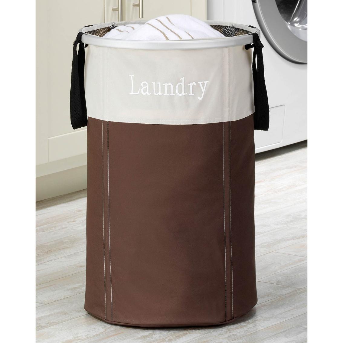 Whitmor Easy Care Double Hamper Laundry Home