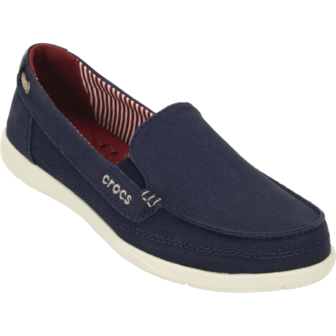 Crocs Women's Walu Canvas Loafers | Casuals | Shoes | Shop ...