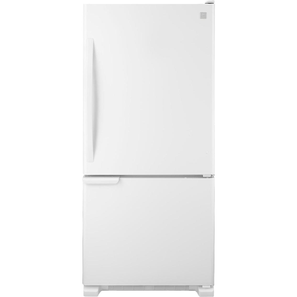 kenmore 19 cu ft bottom freezer refrigerator refrigerators home appliances shop the. Black Bedroom Furniture Sets. Home Design Ideas