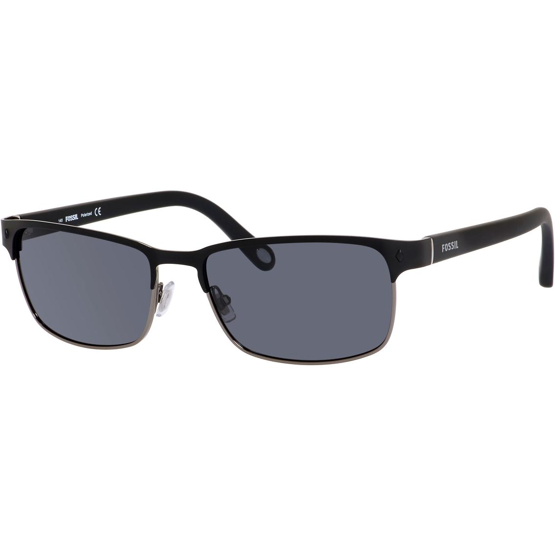 3cc8842970 Fossil Metal Rectangle Polarized Sunglasses 3000ps