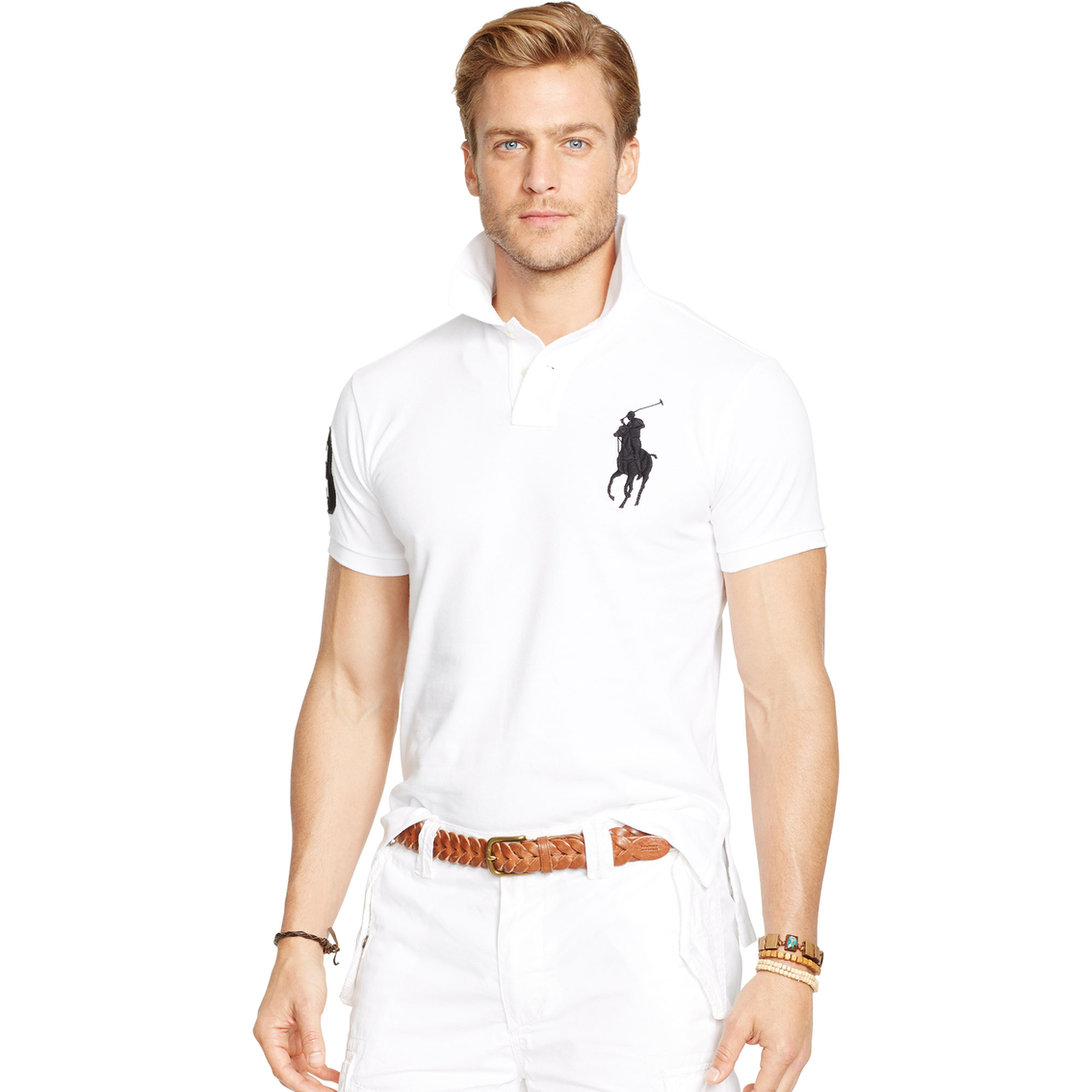 Polo Ralph Lauren Custom Fit Big Pony Mesh Polo Shirt | Shirts \u0026amp; Sweaters