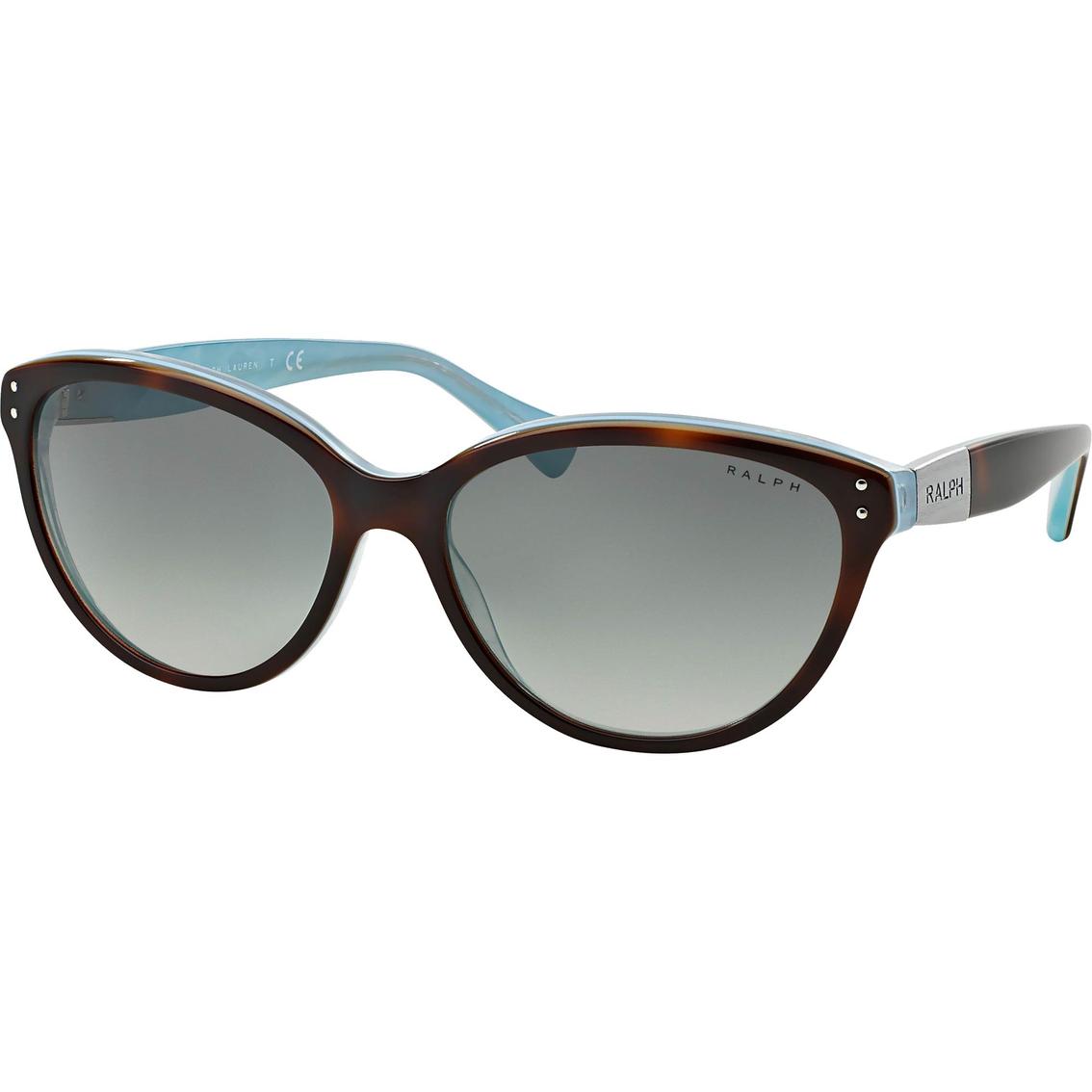1d0e48a873d14 Ralph Lauren Plaque Cat Eye Sunglasses