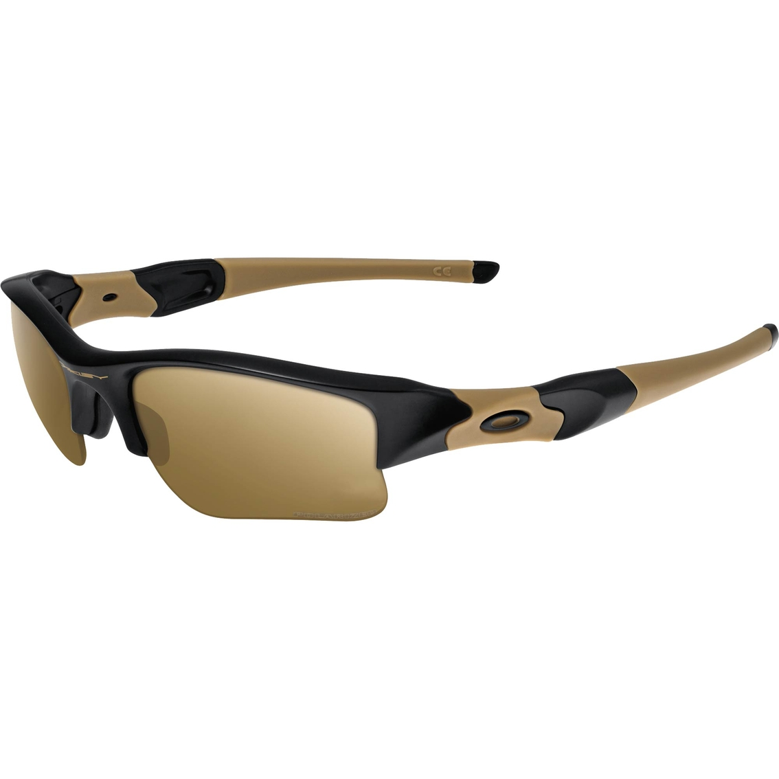 oakley full jacket lenses c0vp  Oakley SI Flak Jacket XLJ Coyote Iridium Sunglasses
