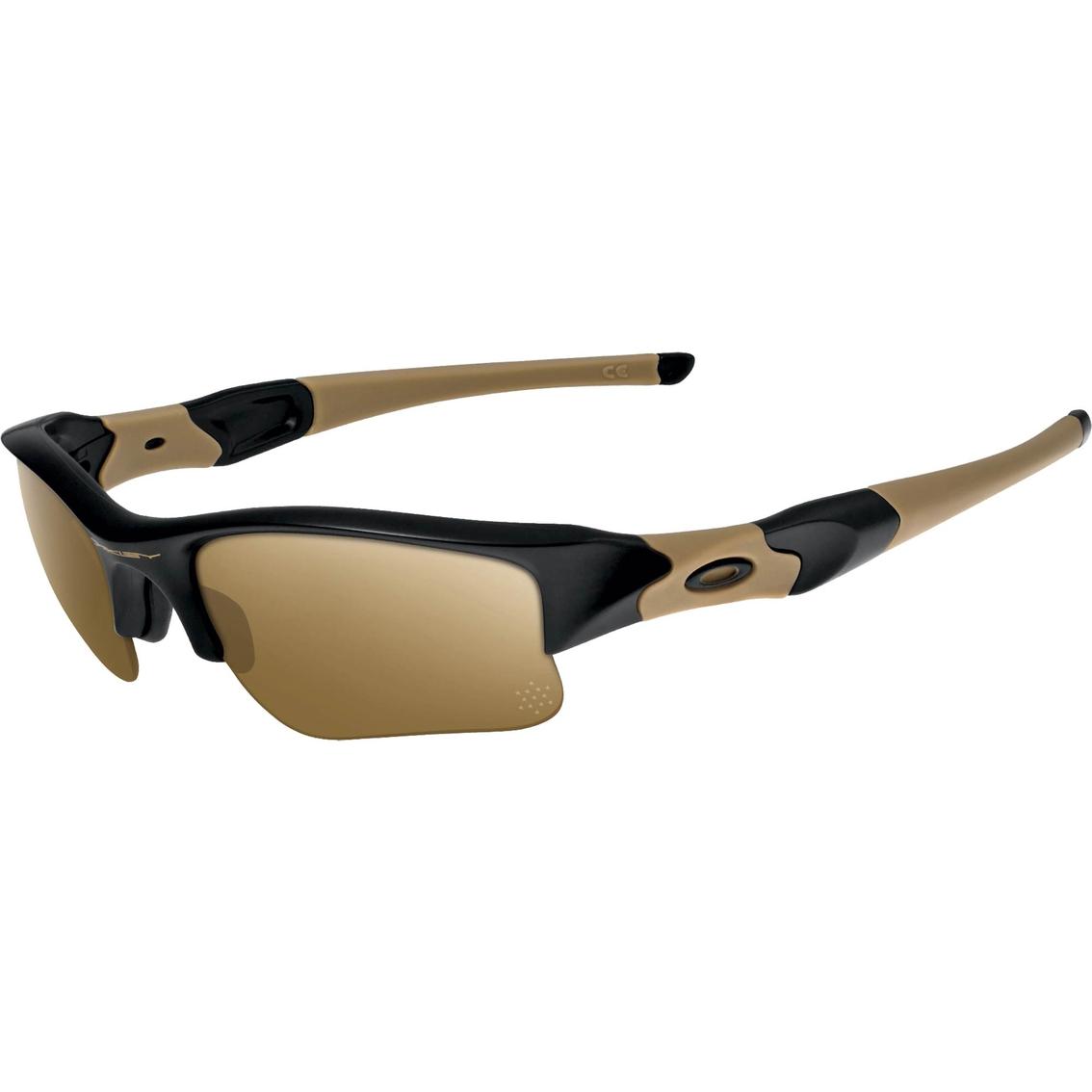 d3ba943749 Oakley Si Flak Jacket Xlj Coyote Iridium Polarized Sunglasses ...
