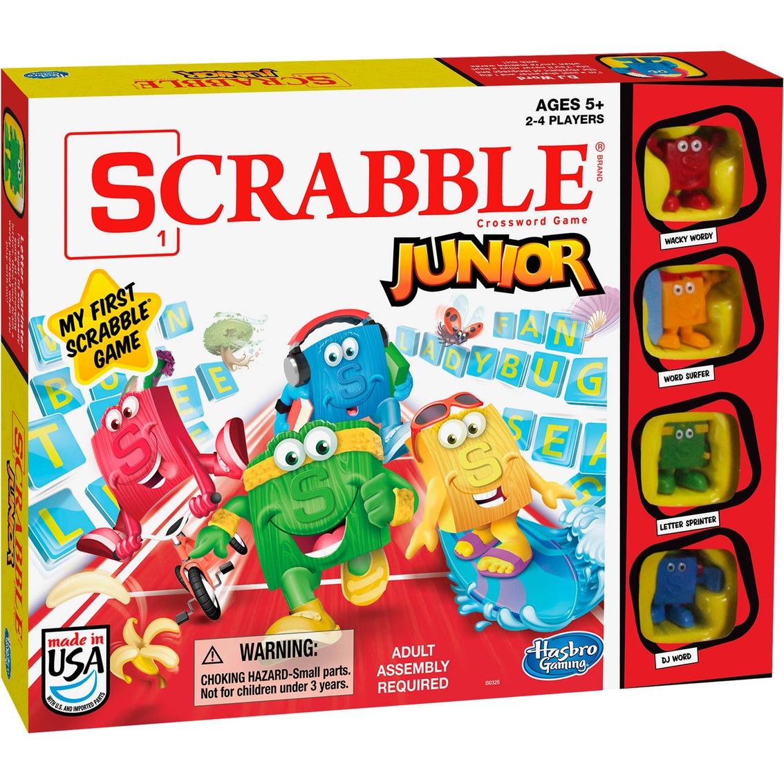 Spielanleitung Scrabble Junior