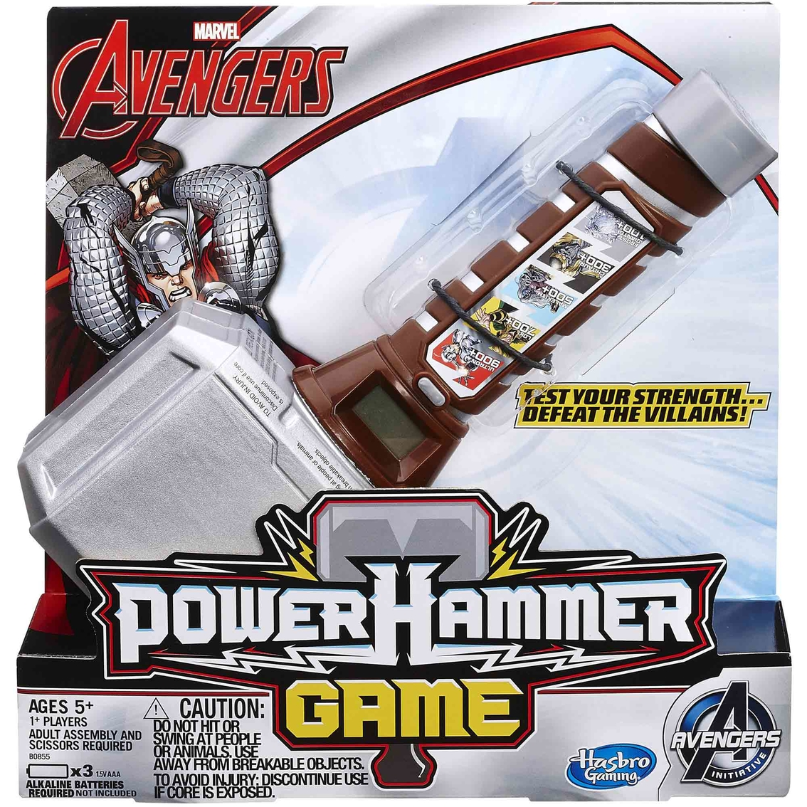 Hammer Game Toy : Marvel avengers thor s power hammer game games baby