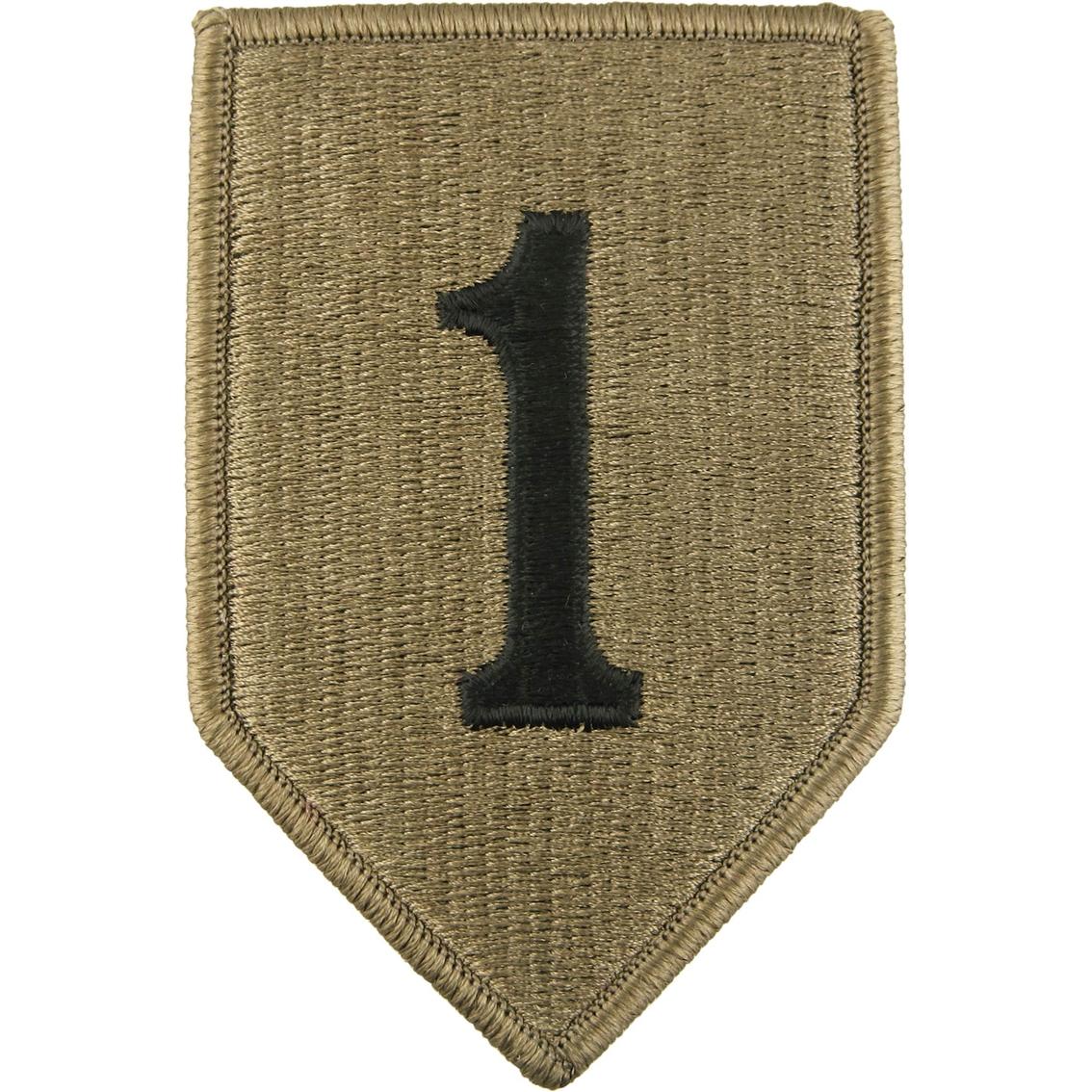 Army Unit Patch 1st Infantry Division (ocp)   Ocp Unit