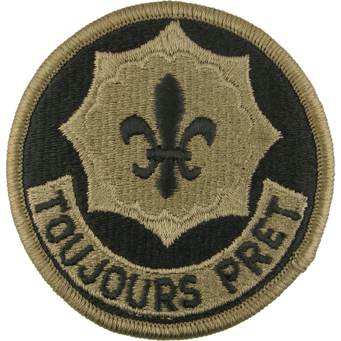 Army Unit Patch 2nd Cavalry Regiment (ocp)   Ocp Unit