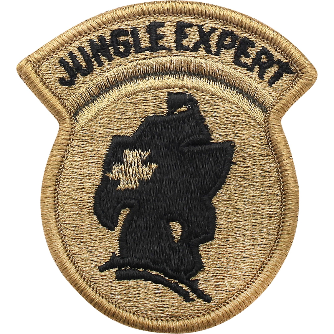Army Patch Jungle Expert Subdued Velcro (ocp) | Ocp Unit