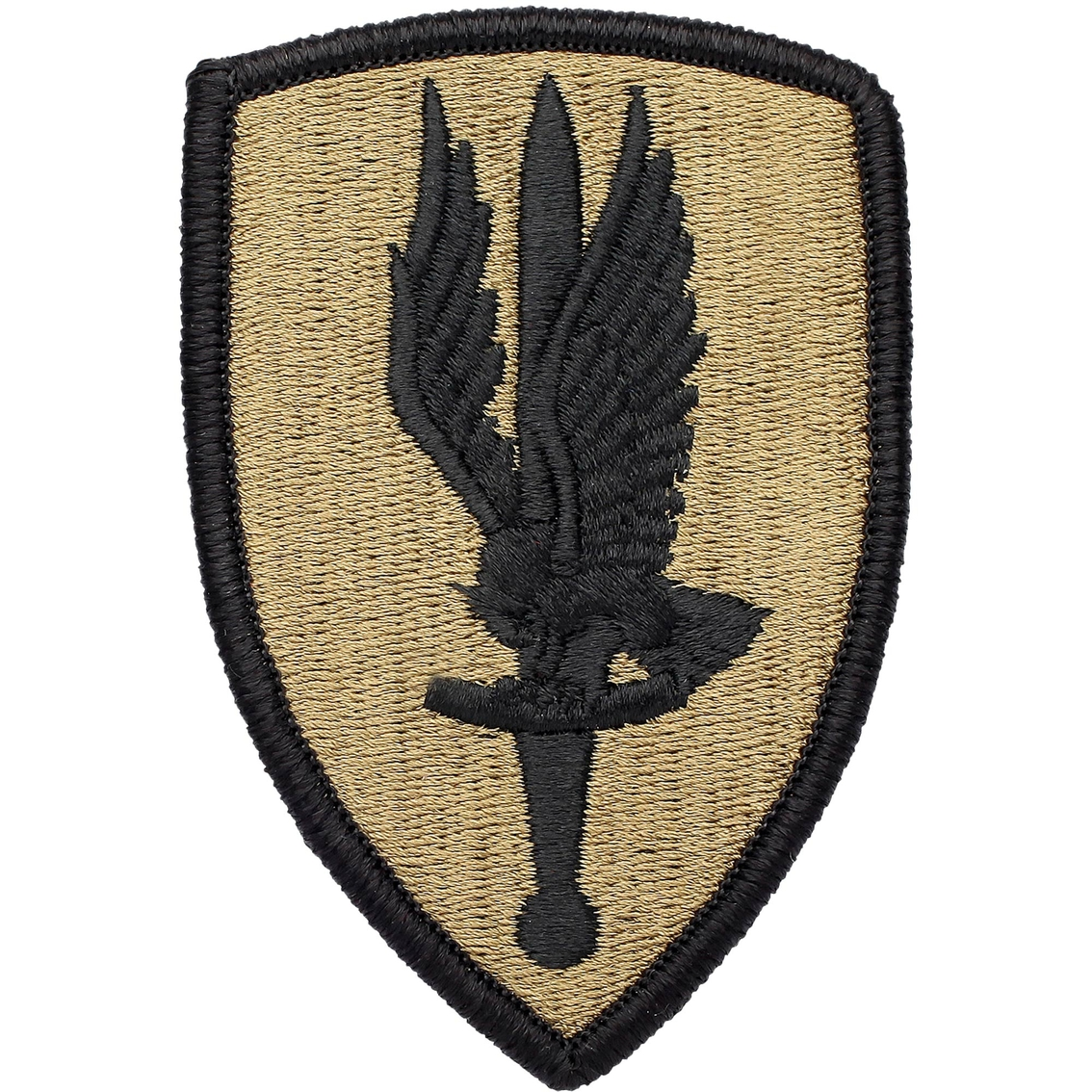 Army Unit Patch First Aviation Brigade, Subdued, Velcro (ocp