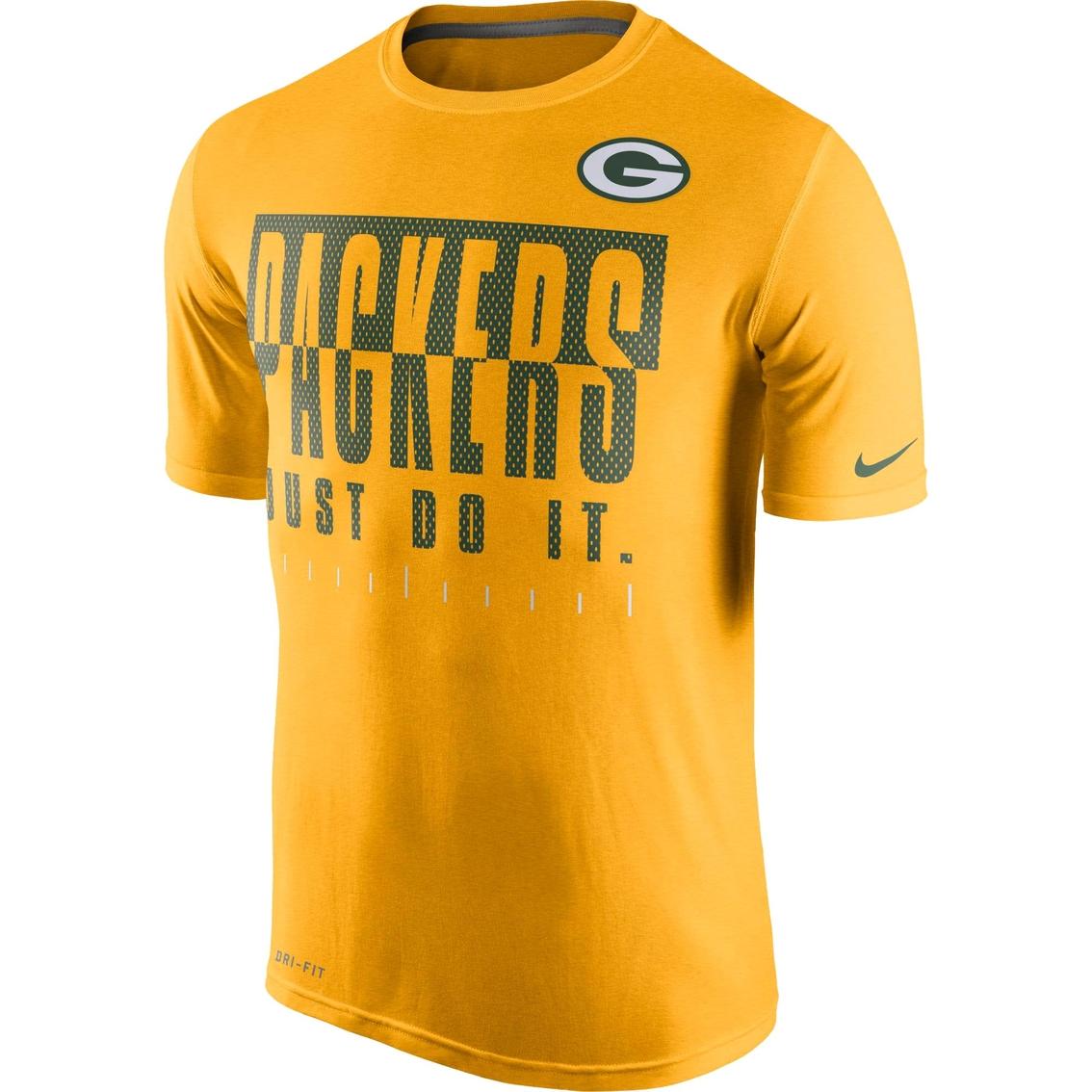 Nike Nfl Green Bay Packers Men S Legend Just Do It Tee