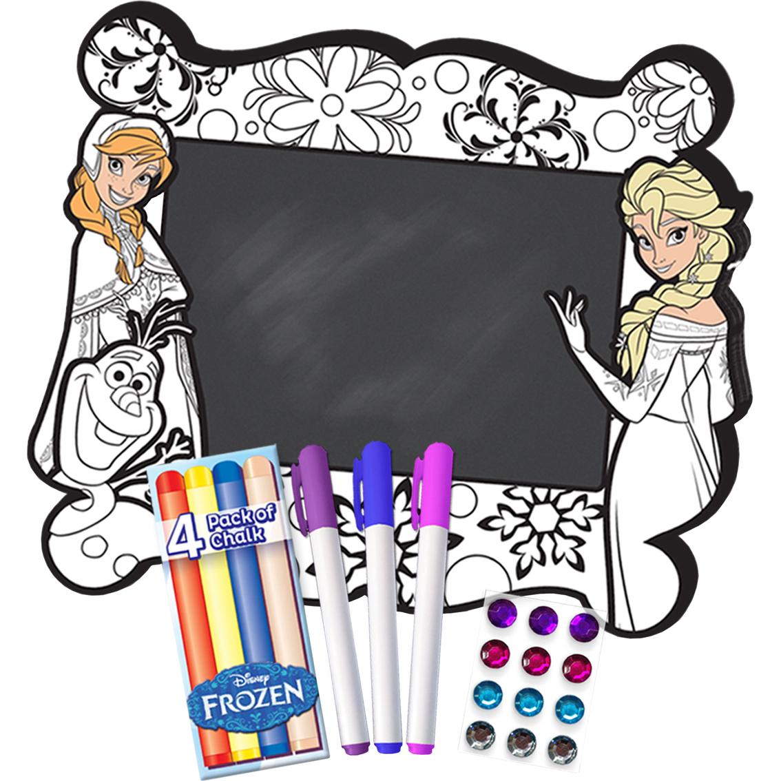 Disney Frozen Color N Style Chalkboard Activity Set