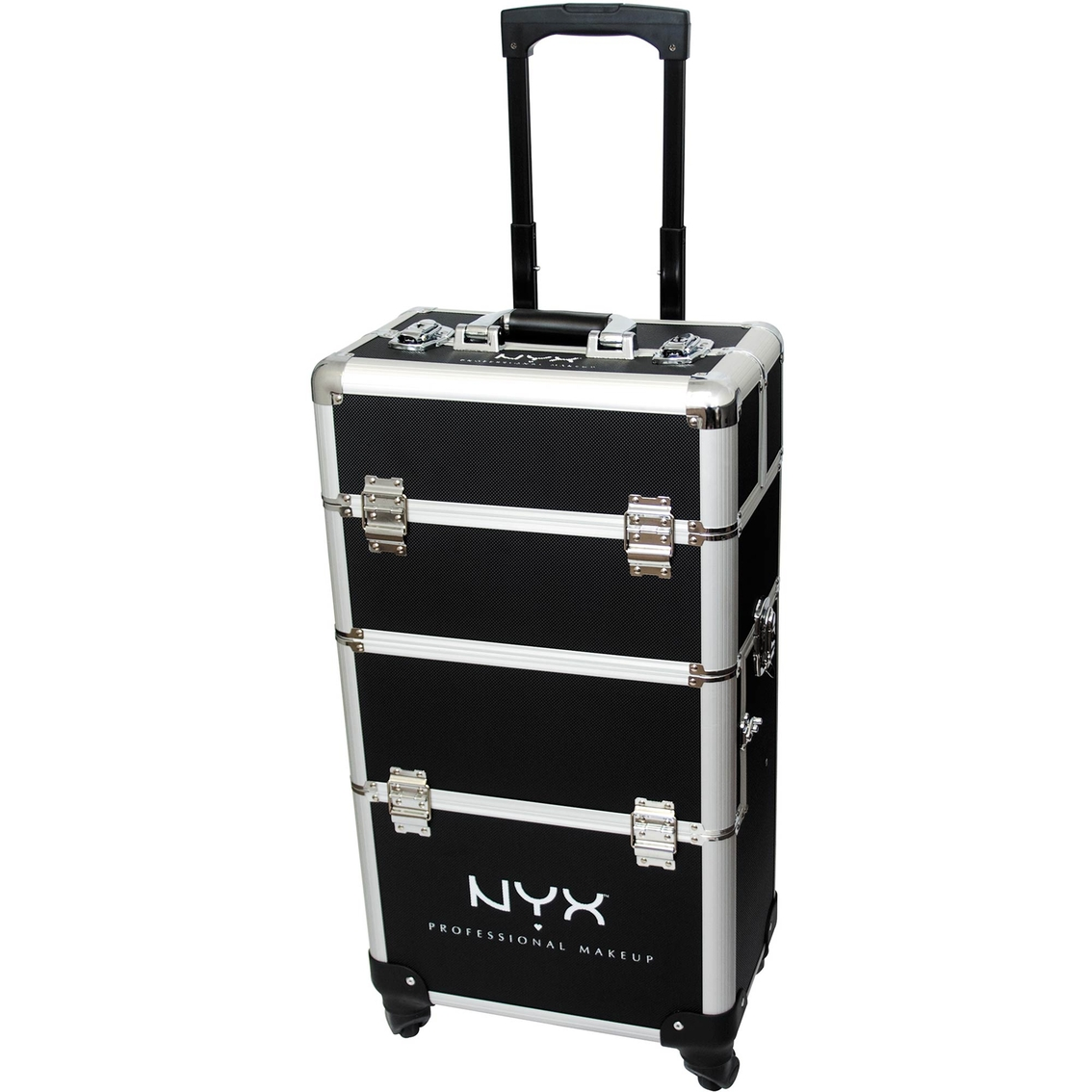 nyx makeup artist 4 tier train case makeup cases beauty health shop the exchange. Black Bedroom Furniture Sets. Home Design Ideas