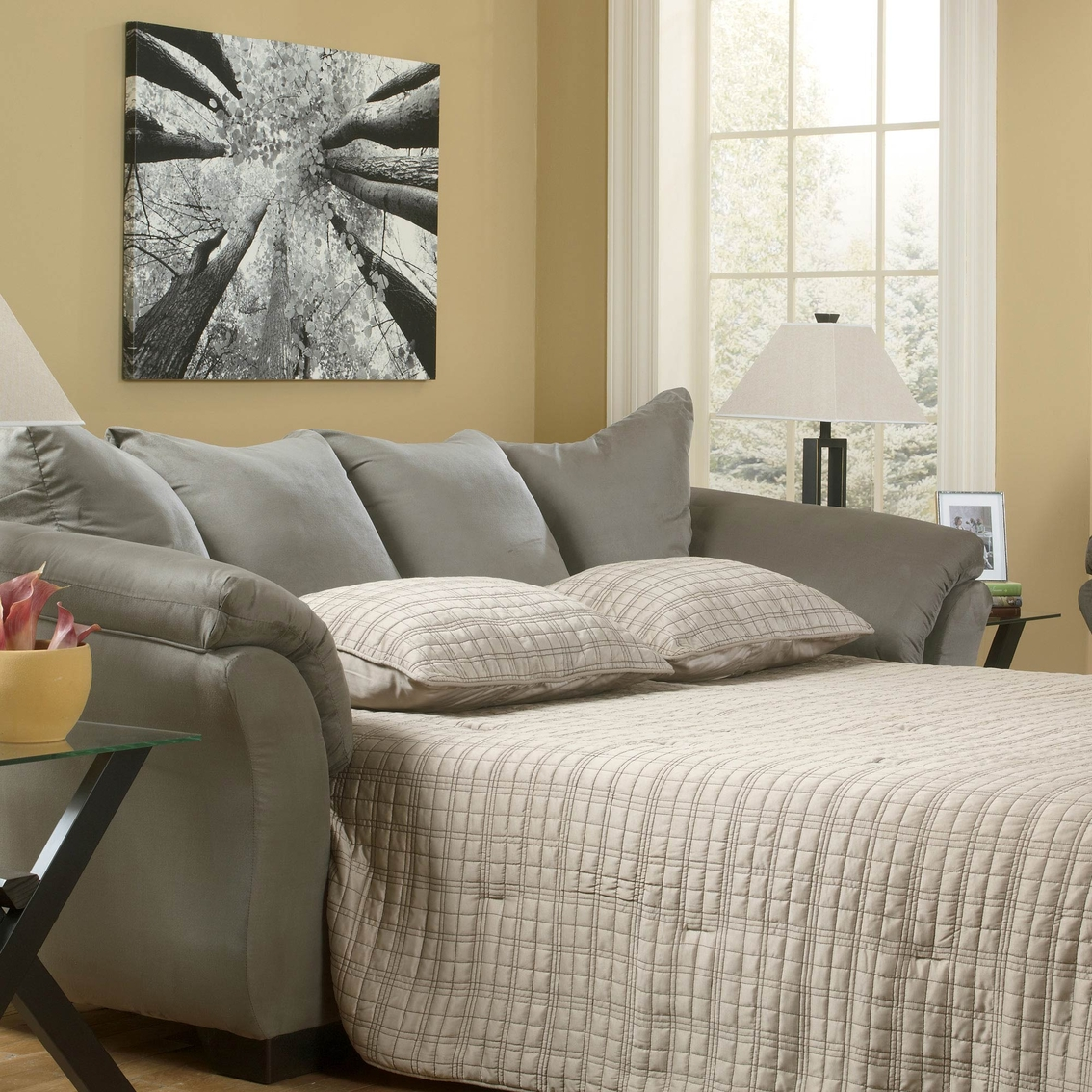 Signature Design By Ashley Darcy: Signature Design By Ashley Darcy Full Sofa Sleeper