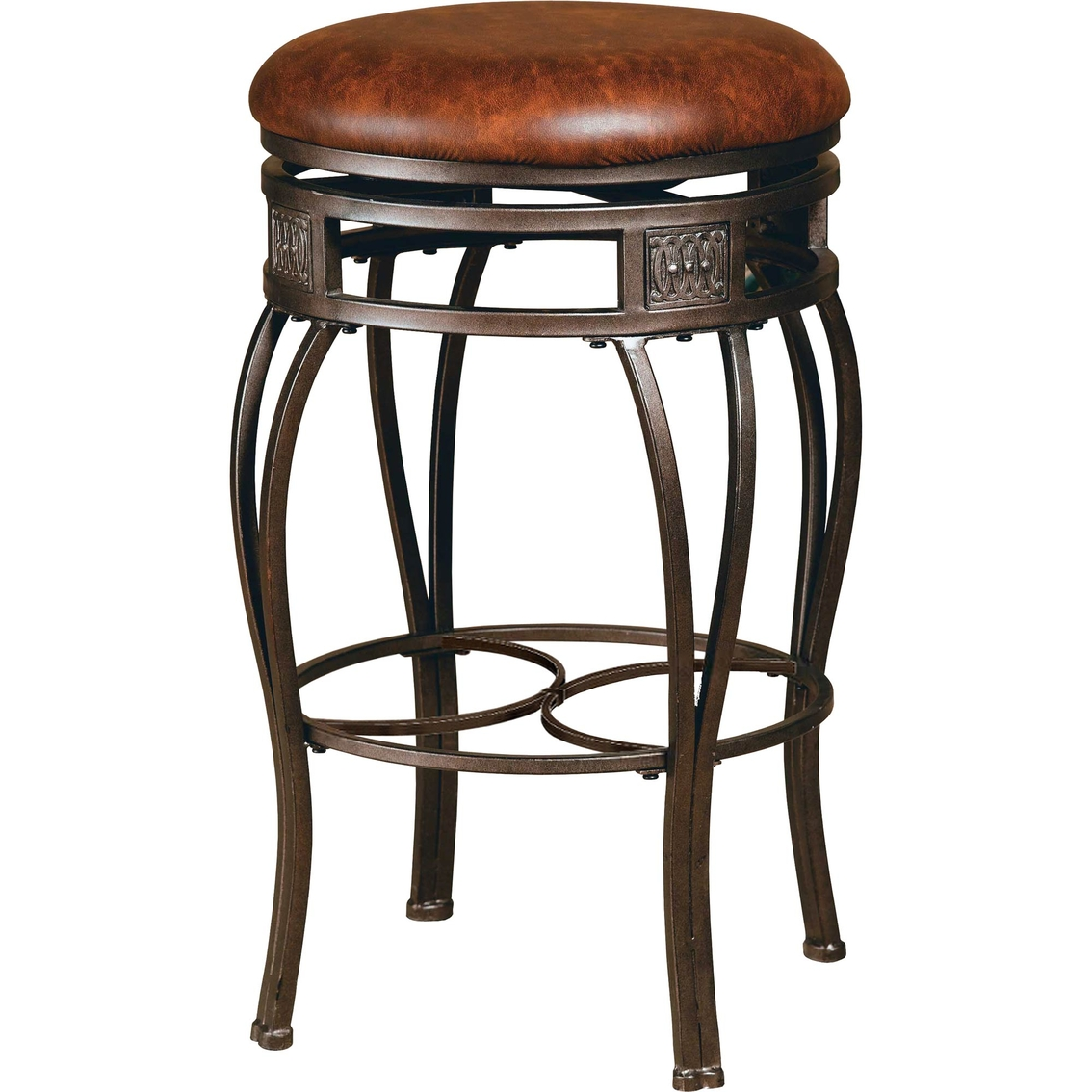 Hillsdale Montello Backless Swivel Stool Dining Seating
