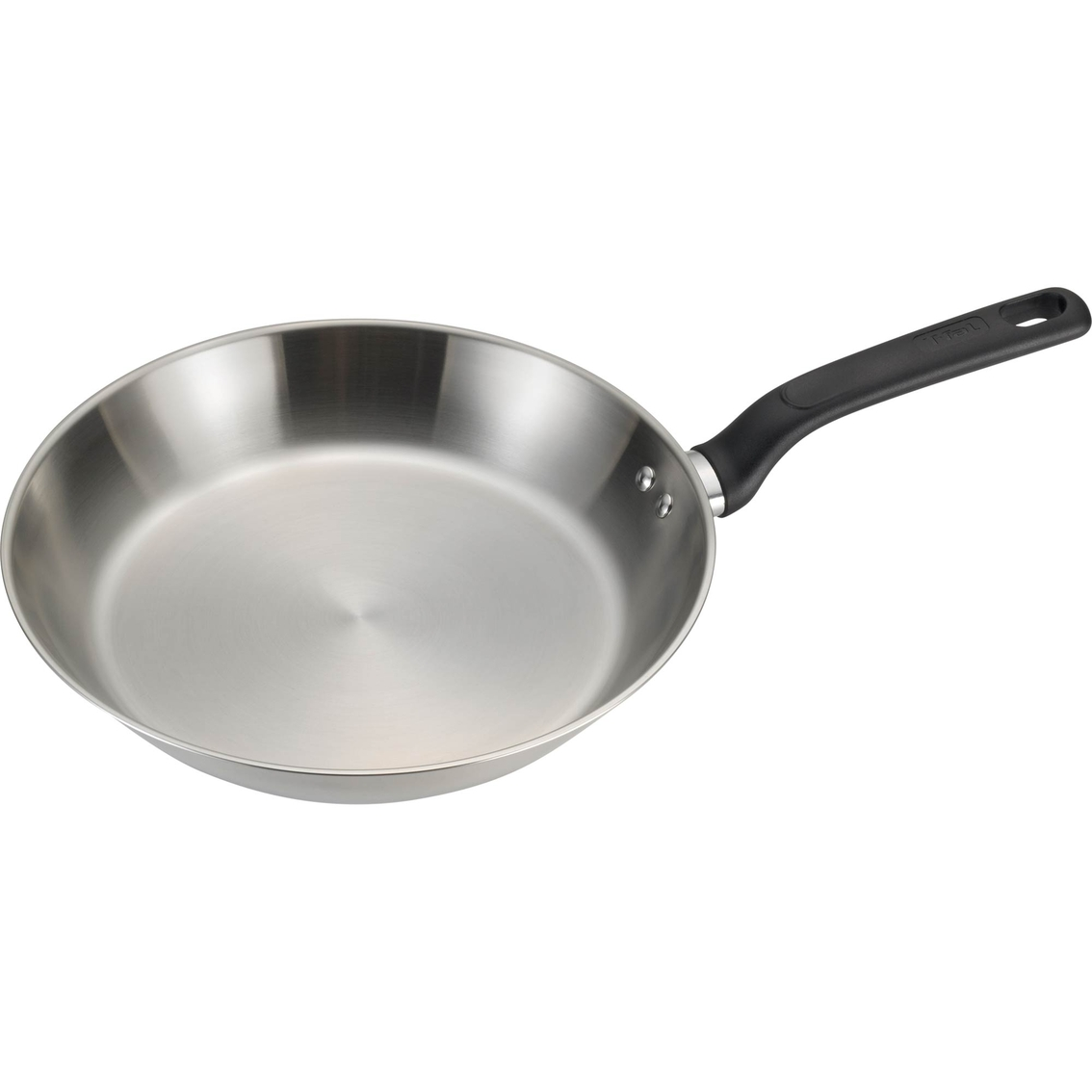 t fal excite stainless steel 10 in fry pan fry pans skillets home appliances shop the. Black Bedroom Furniture Sets. Home Design Ideas